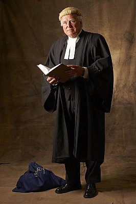 Commissioned Portrait, Sydney Barrister